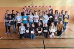 Uczniowie do Listu Gratulacyjnego i projektu Osiągnąć Sukces