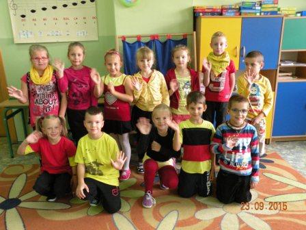 Dzień Niemiecki w klasi Ib