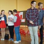 Gimnazjaliścy rywalizujący w konkursie.