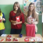 Nasz szkolny sklepik walentynkowy:)