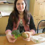 Gabrysia i jej zdrowa przekąska